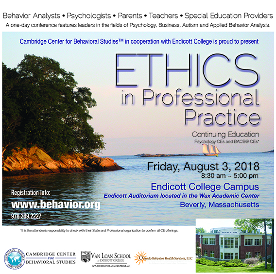 Ethics in Professional Practice Conference