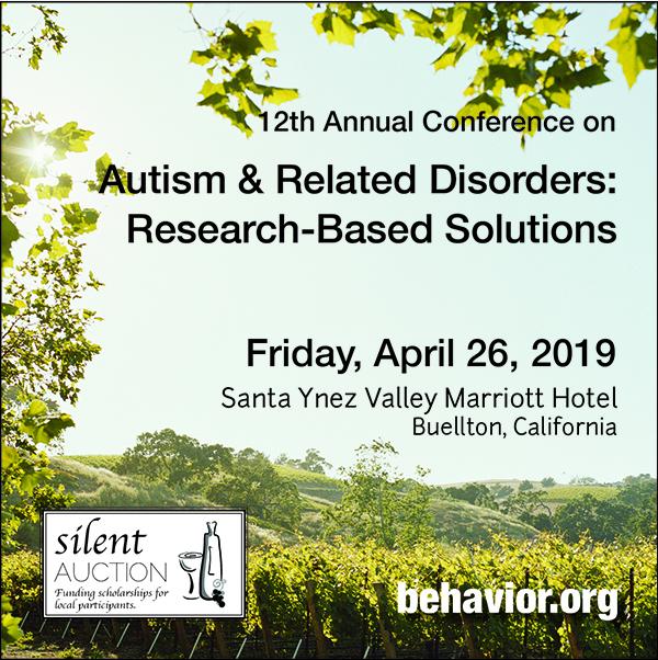 West Coast Conference on Autism - April 26, 2019