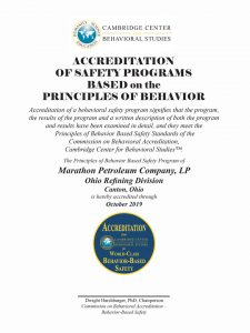 Accreditation Award