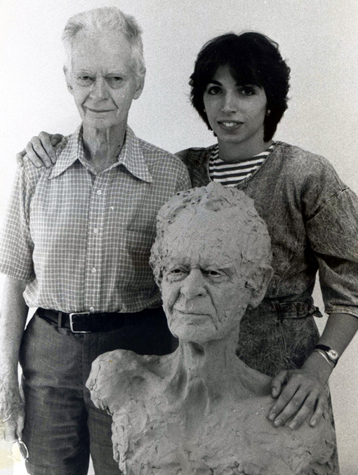 BF Skinner, Gilda (McLean) Oliver and the bust