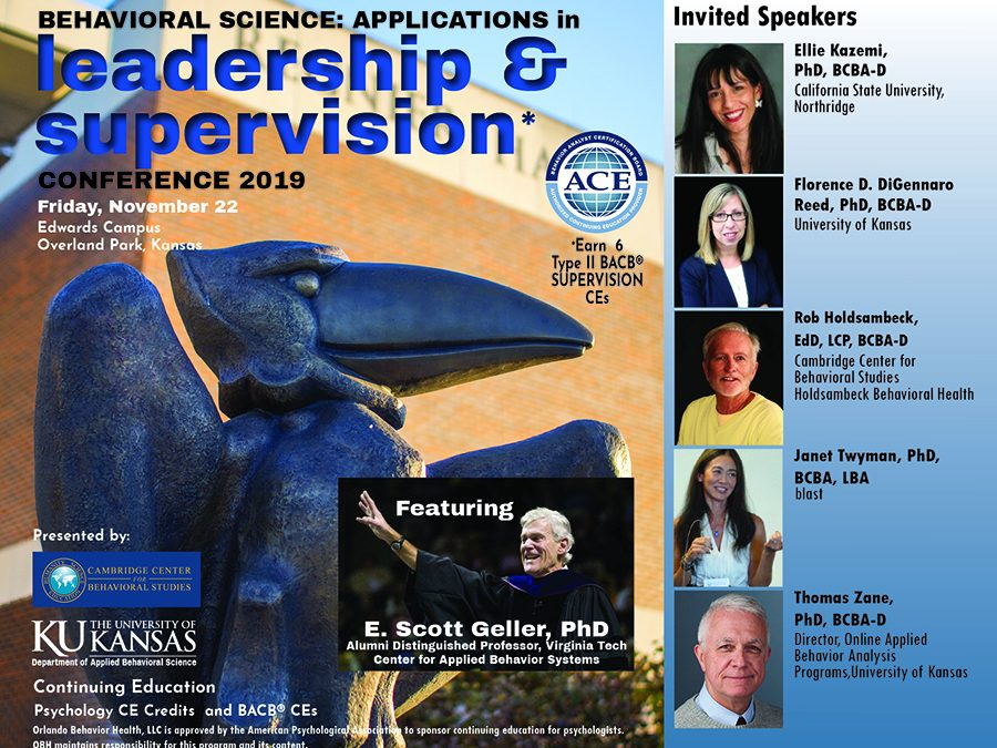 Behavioral Science: Applications in Leadership & Supervision Conference 2019