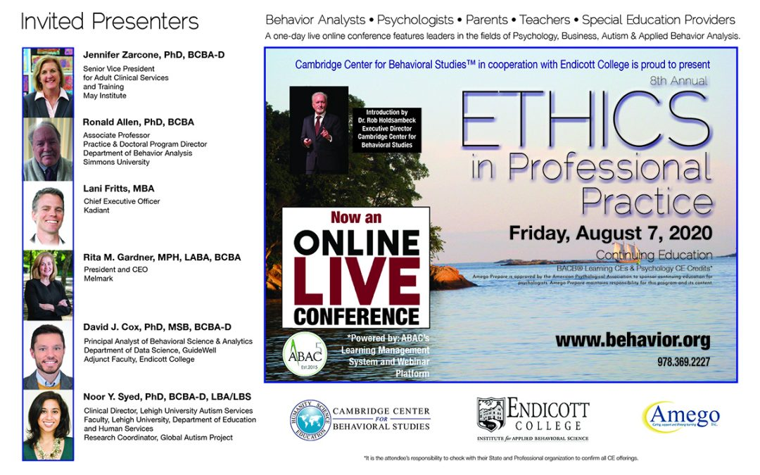 8th Annual ETHICS in Professional Practice Conference