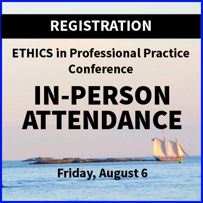 In-Person Registrations ETHICS Conference 2021