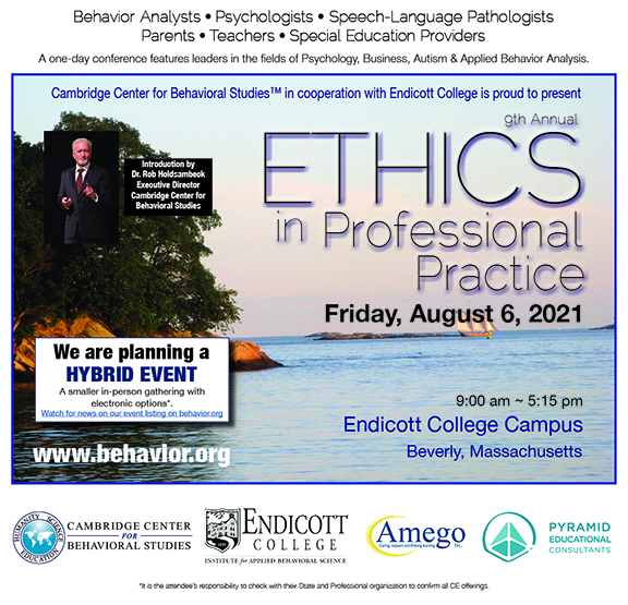 Ethics in Professional Practice Conference 2021